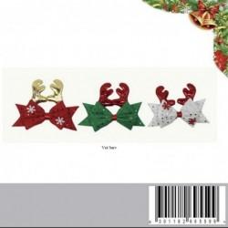božična mašnica z rogovi