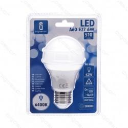 LED žarnica A60 E27 6W