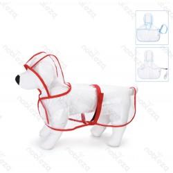 pasje dežni plašč 50-80cm
