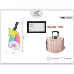 etiketa za kovček