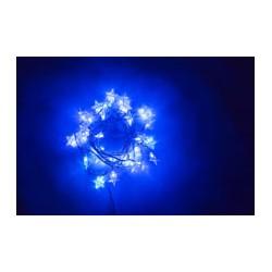 novoletne lučke 30LED zvezda