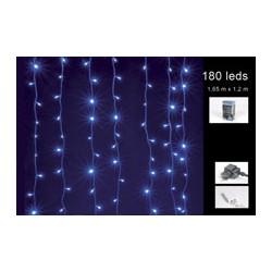 novoletne lučke zavesa 180LED