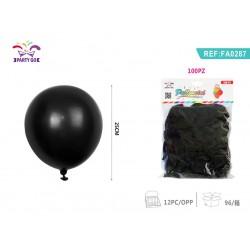 baloni 100kom črna