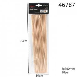 lesene palčke 30kom/3*300mm