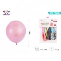 baloni ognjemet 6kom/30cm