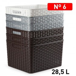 plastična košara 28.5L