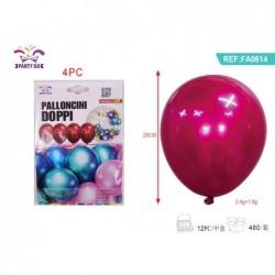 dvojni balon 25cm/4kom