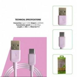 USB kabel tipe C 1m