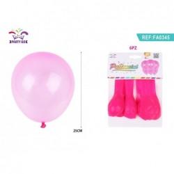 balon 25cm/6kom